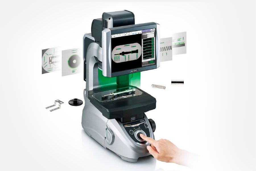 dispositif de mesures dimensionnelles par imagerie pour joints
